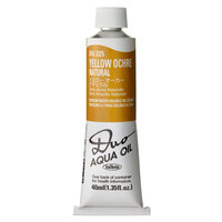 Holbein Duo Aqua Oil Colour - Yellow Ochre Natural