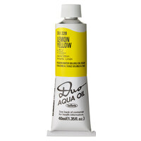Holbein Duo Aqua Oil Colour - Lemon Yellow