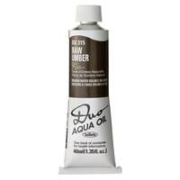 Holbein Duo Aqua Oil Colour - Raw Umber
