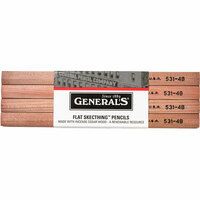Generals Flat Sketching Pencils